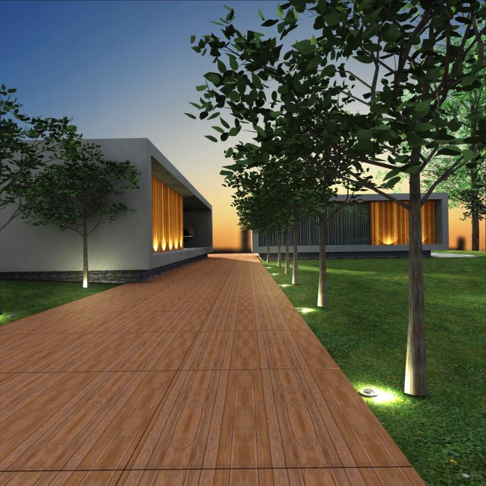 Fachada casa moderna - arquiteta Indaiatuba
