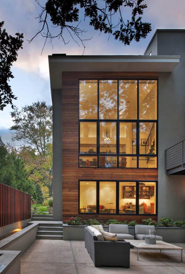 Linda casa contempor nea for Casa contemporanea