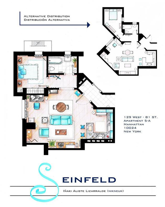 Seinfield floor plan