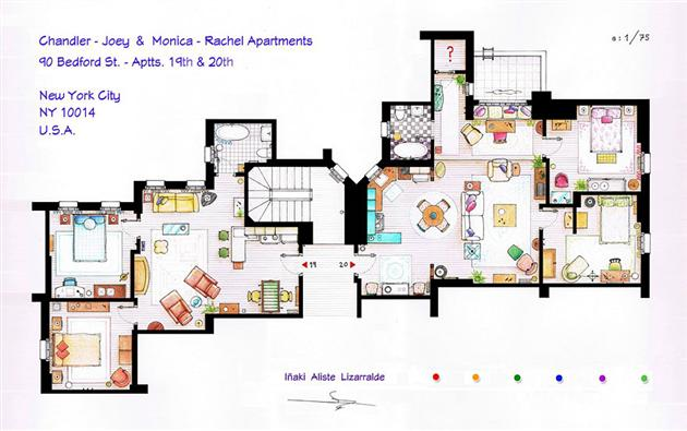 friens floor plan