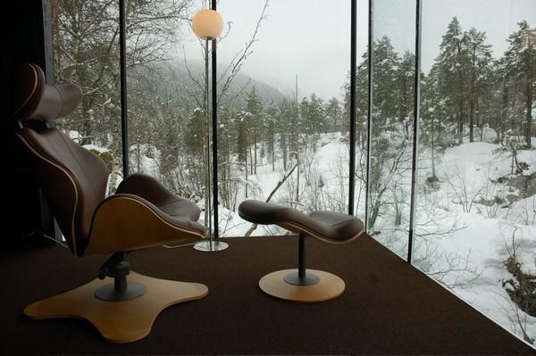 Hotel na Noruega com arquitetura peculiar 10