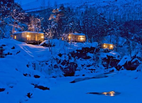 Hotel na Noruega com arquitetura peculiar 13