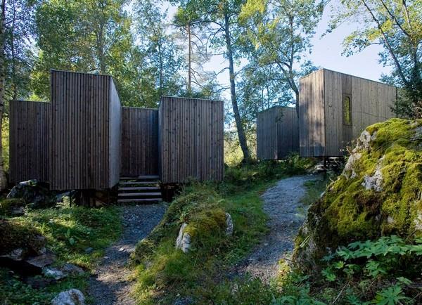 Hotel na Noruega com arquitetura peculiar 2