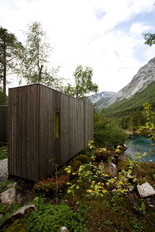 Hotel na Noruega com arquitetura peculiar 6