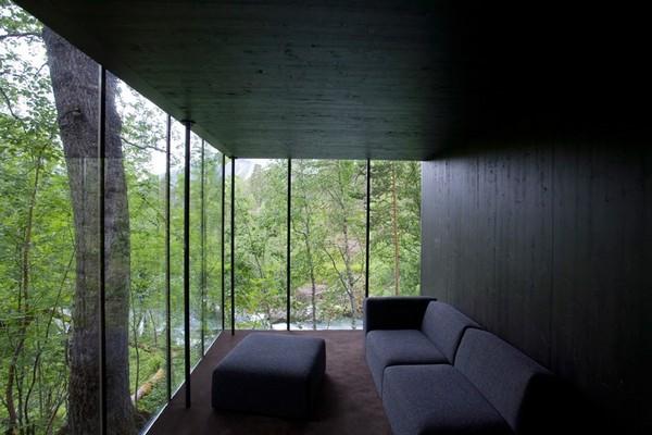 Hotel na Noruega com arquitetura peculiar 8