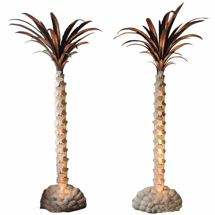 PALM TREE TORCHIERES JANSEN
