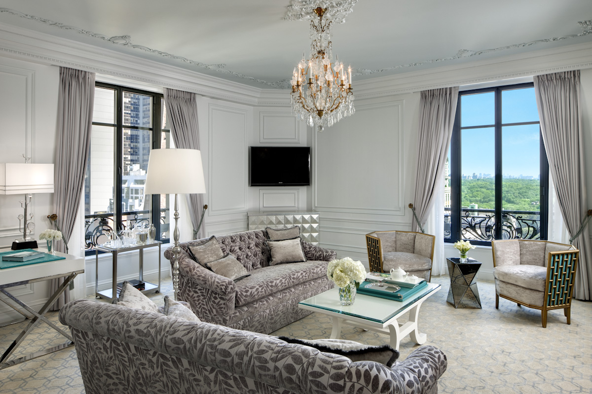 Tasteful Tiffany Suite Living Room