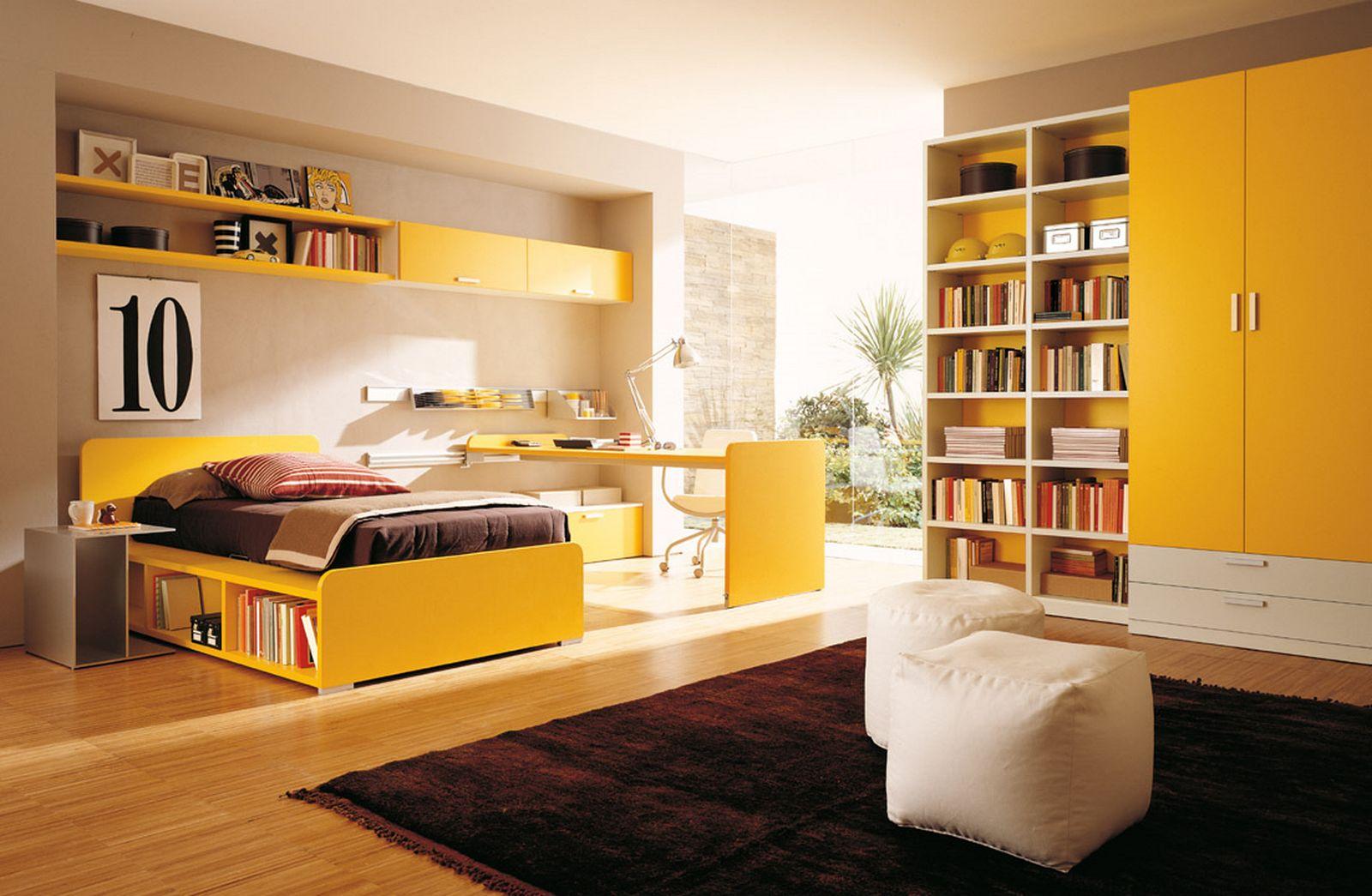 decoração quarto amarelo
