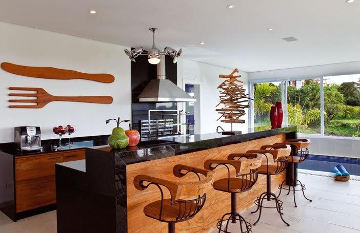 Áreas externas Churrasqueira e espaço Gourmet