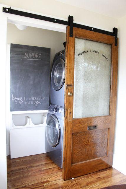 15 id ias praticas e funcionais de lavanderia. Black Bedroom Furniture Sets. Home Design Ideas