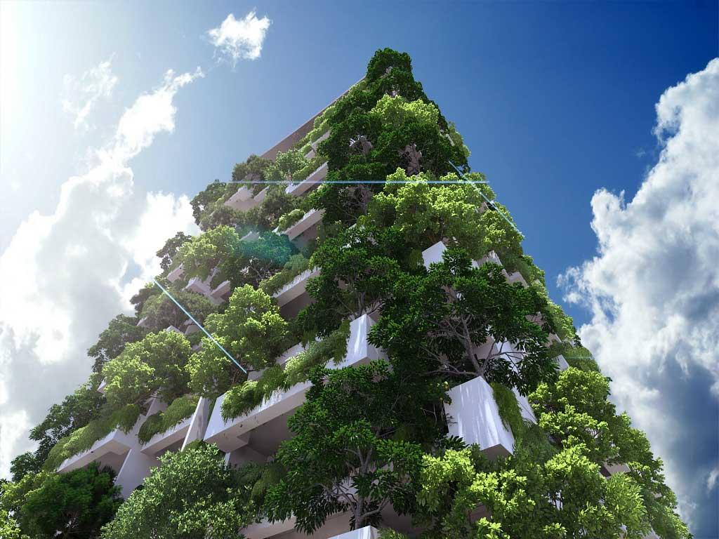 Maior jardim vertical do mundo 2