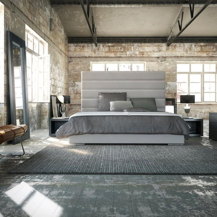 Lindos quartos no estilo industrial - Estilo industrial ...