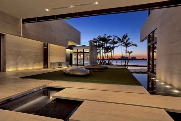 Arquiteta Indaiatuba Diana Brooks - Casa de arquitetura deslumbrante em Miami