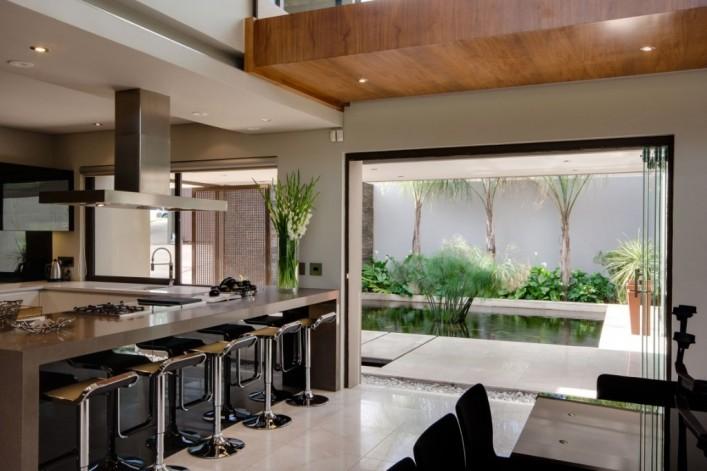 13 id ias de varandas churrasqueiras e espa o gourmet for Cocinas externas