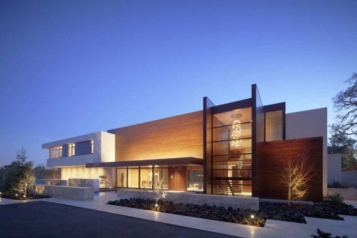 Luxo e conforto em resid ncia na california oz house for Fachadas de casas modernas wikipedia