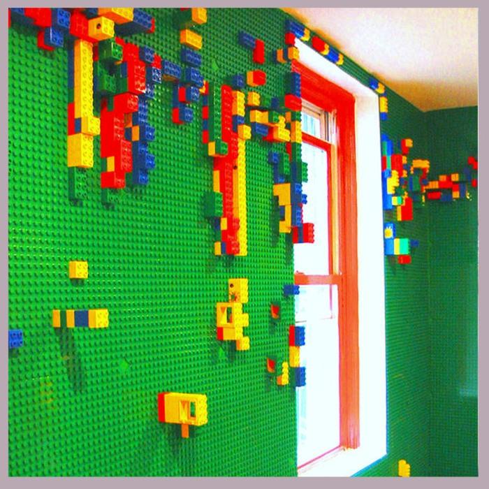 QUARTO PAREDE DIFERENTE LEGO