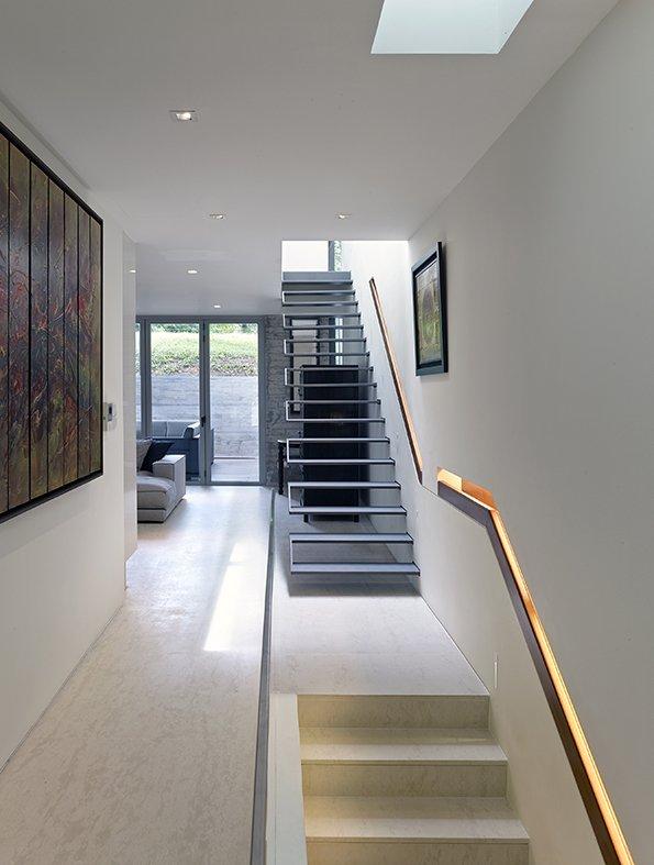 Guarda corpo e escadas para escalar e decorar for Escaleras minimalistas interiores