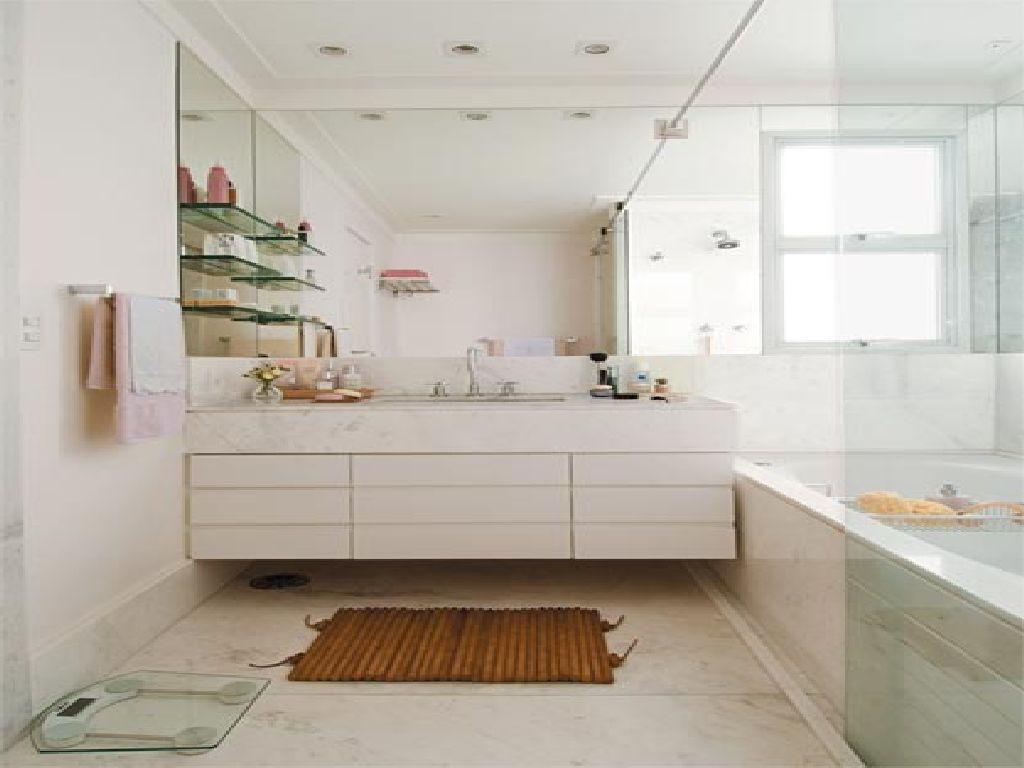 Cuba dupla: Excelente solução para casais se o espaço permitir  #694120 1024x768 Bancada Banheiro Duas Cubas