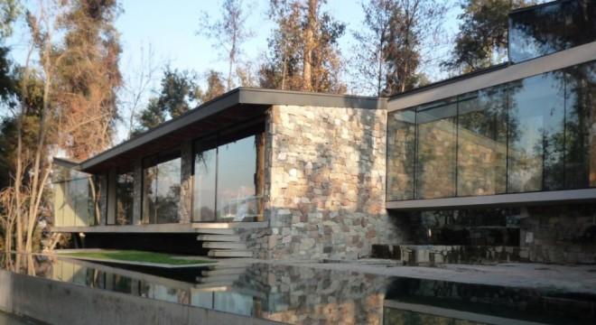Linda casa vista exterior