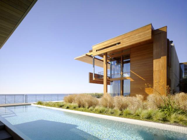 Casas com vista estonteante para o mar for Malibu california beach houses
