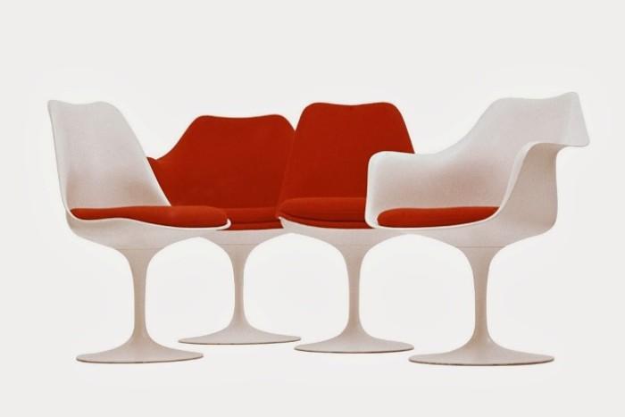 Tulipas com e sem braços design interiores