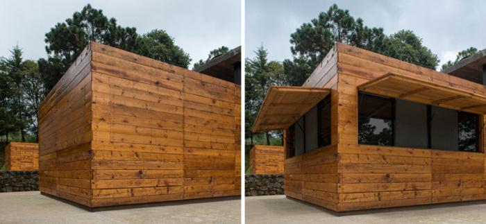 Arquitetura equestre - escritório no campo