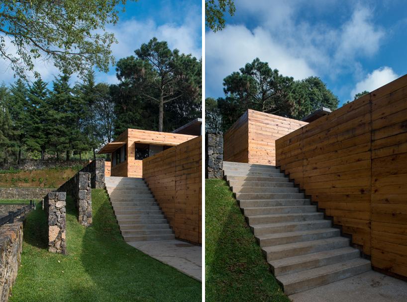 Arquitetura equestre - sede do centro hipico