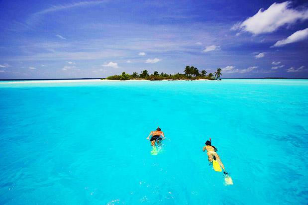 Atol Kaafu Maldivas