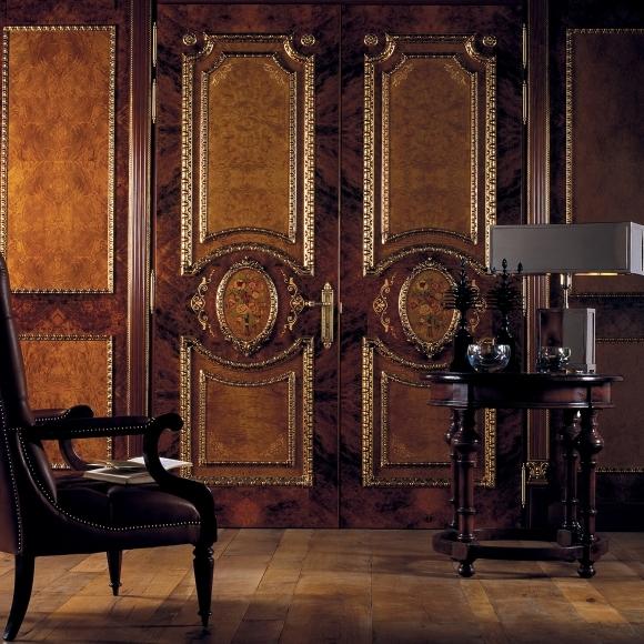 Boisserie portas e paredes