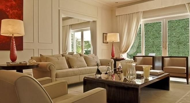 Boisserie sala decoração clássica