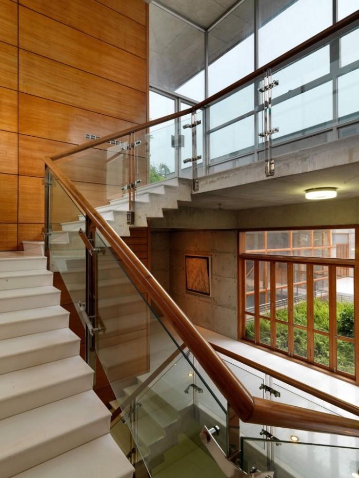 Escada casa moderna