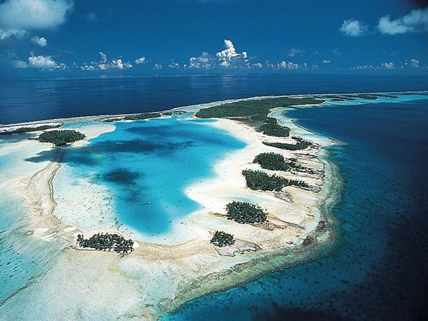 Ilha Rangiroa Polinésia