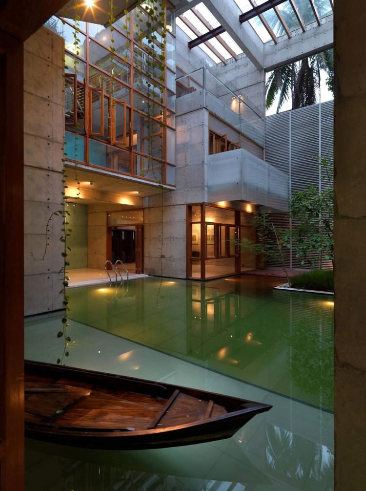 Paisagismo casa moderna