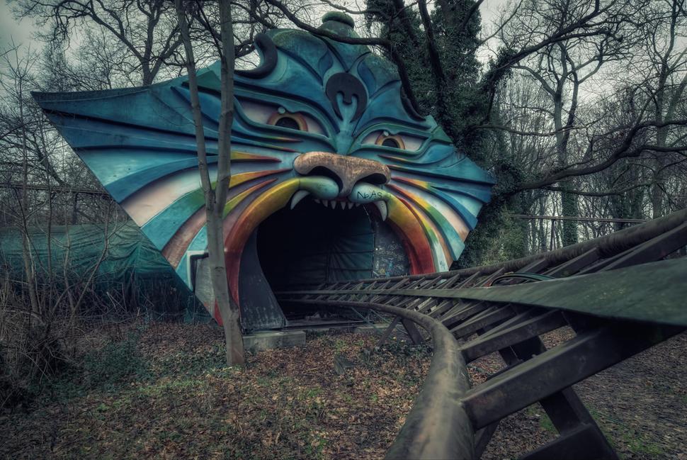 Parque de diversões em Berlim