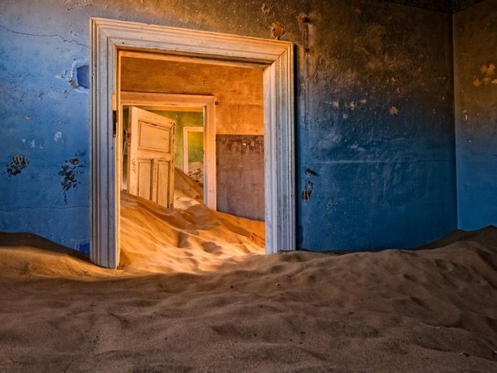 ResidÊncia no deserto da Namibia