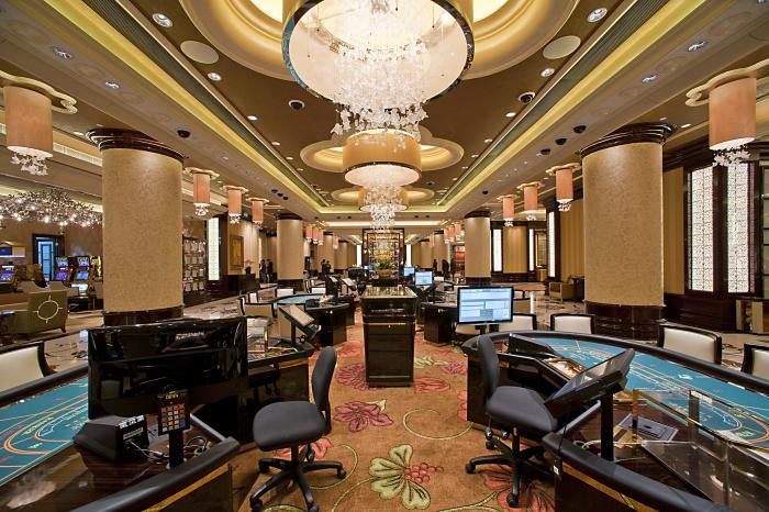 19 The Macau Casino interior