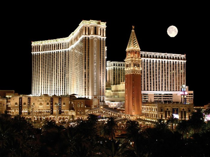 5 Cassino em Vegas The Venetian