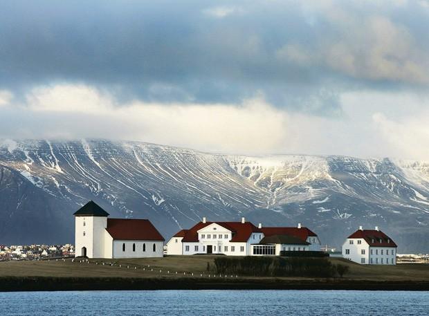 Bessastaðir, Álftanes, Islândia