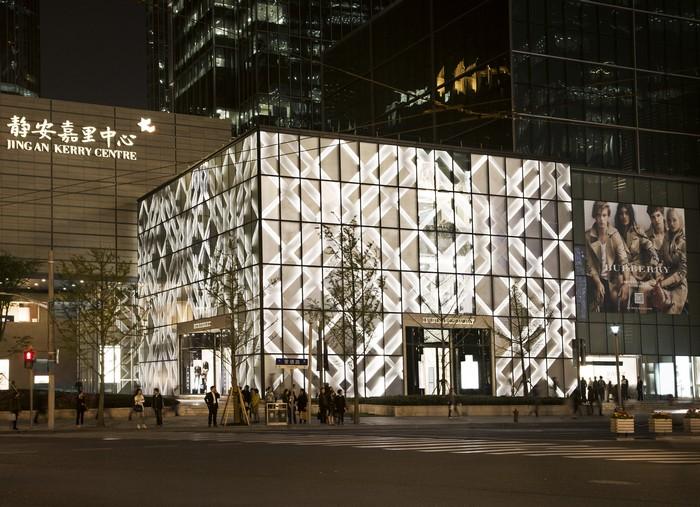 Burberry fachada Xangai