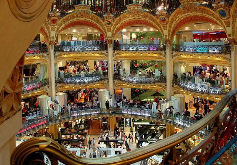 Kaufhaus Les Galeries Lafayette in Paris, Ile de France, Frankreich