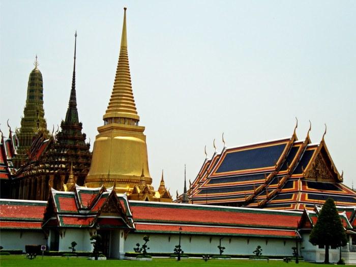 Sede do governo em Bankok - Tailândia