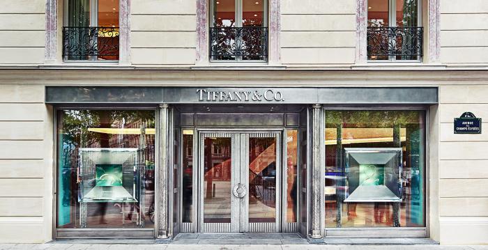 Tiffany's Champs Elisée