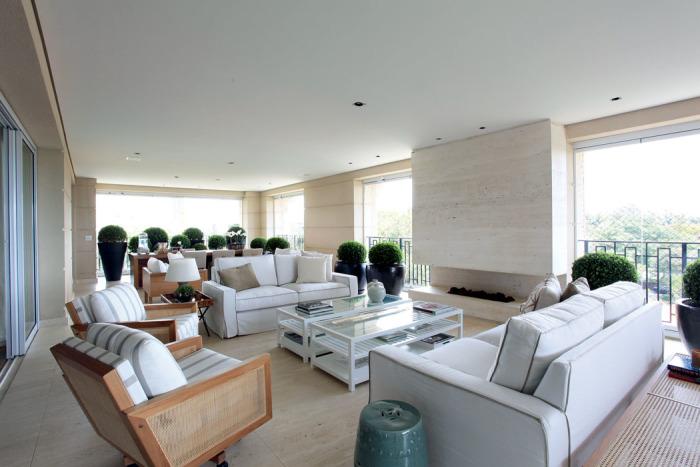 Varanda sala de estar