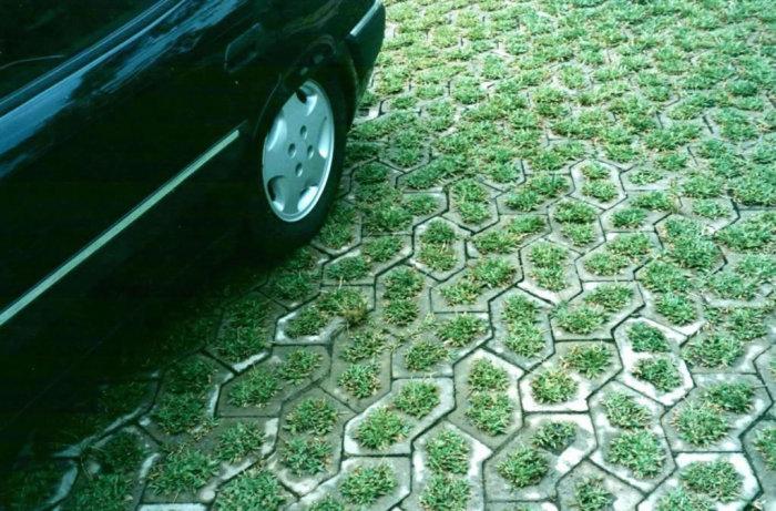 Calçada ecológica
