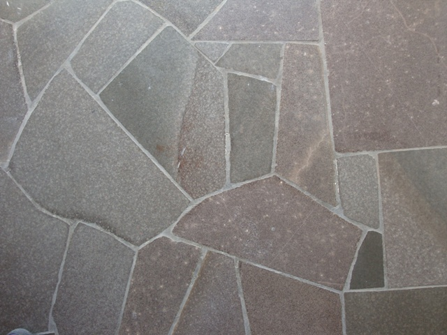 Claçada de pedra basalto