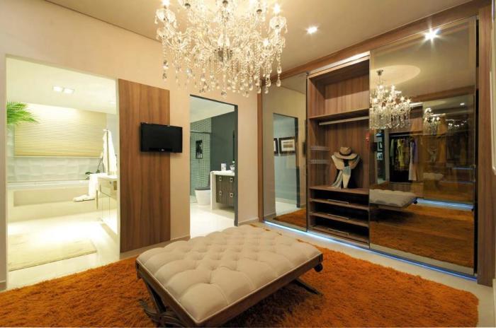 Luxo no closet