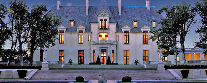 Maravilhoso castelo de casamentos