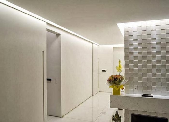 Paredes de gesso  13 segredos sobre o Drywall # Armario De Cozinha Feito De Gesso