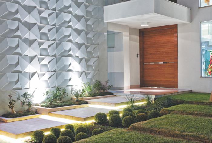 revestimento parede externa - fachada