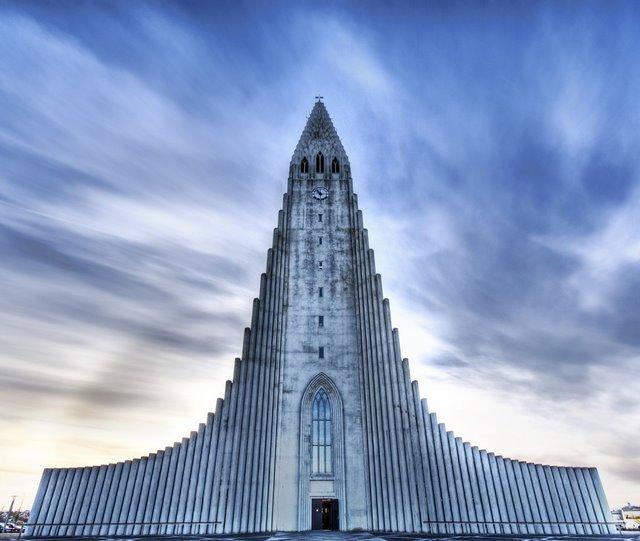 Igreja de Hallgrimur, Islãndia
